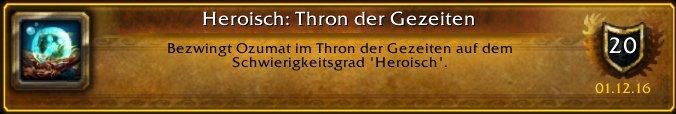 """Ich habe gerade den Erfolg """"[Heroisch: Thron der G…"""